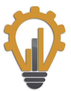 gear lightbulb - shadow