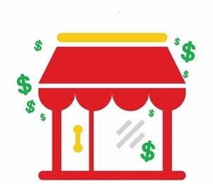 restaurant with money
